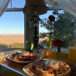 超级适合情侣的玫瑰度假屋,还包豪华早晚餐...