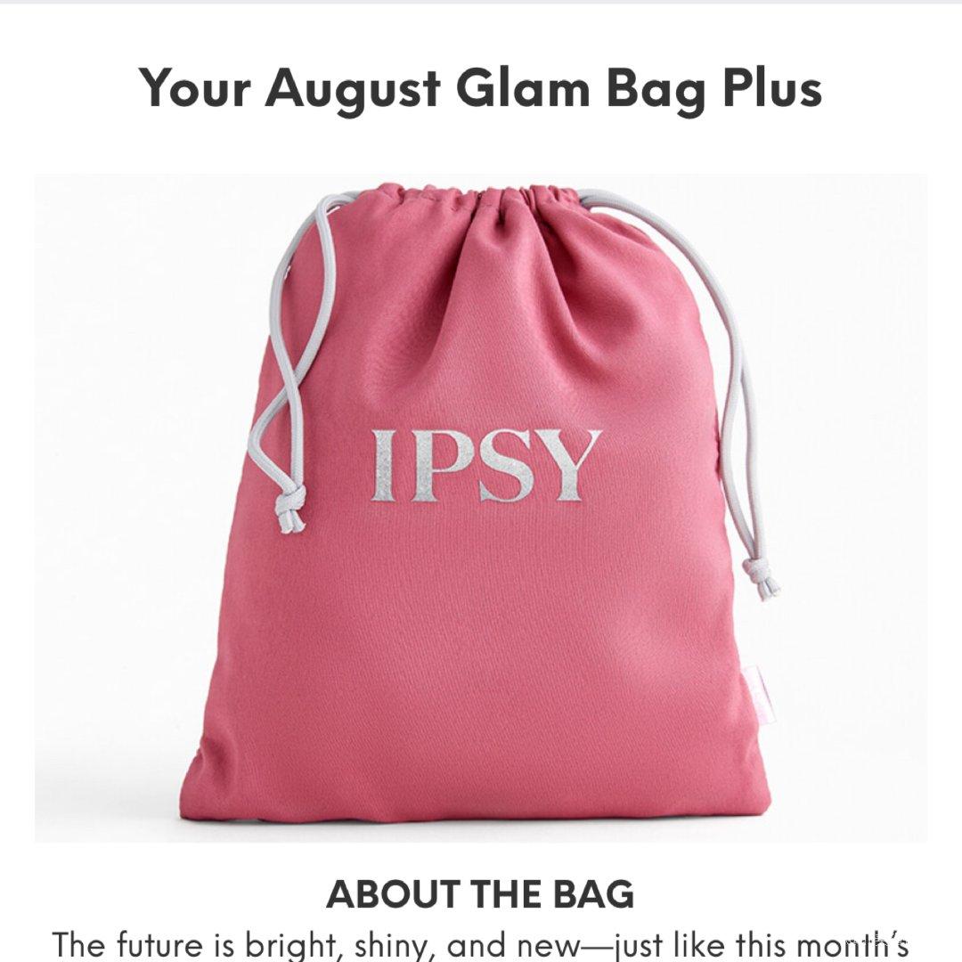 第一个Ipsy的袋子