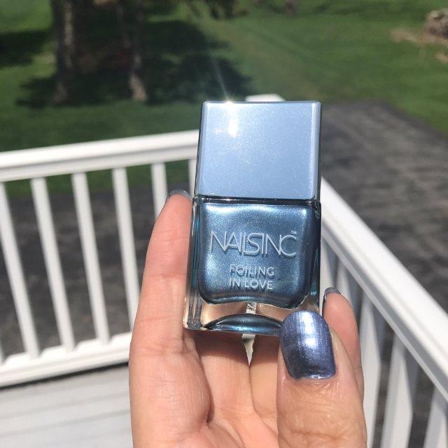 这是我买的第一瓶nailsinc的...