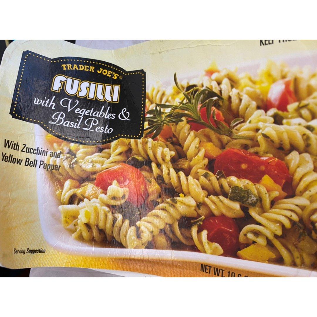 缺德舅微波快餐青酱蔬菜Fusilli