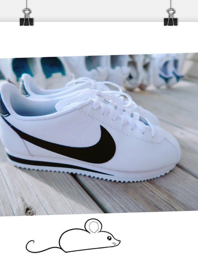 又添一双小白鞋—Nike小耗子