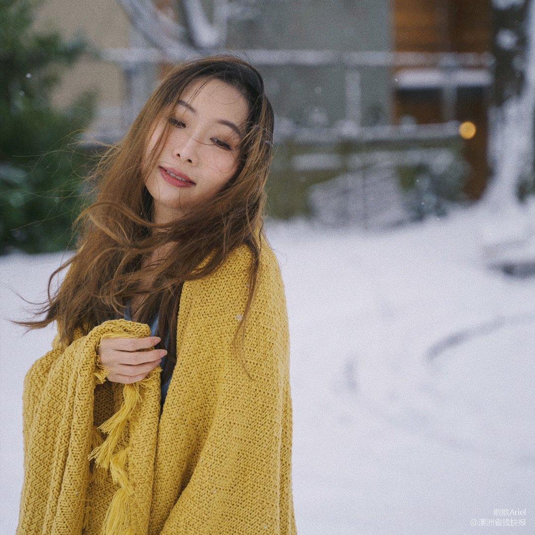 西雅图下大雪啦