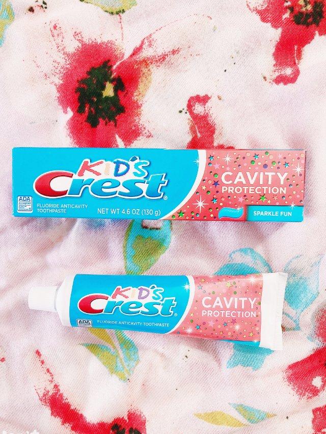 佳洁士儿童牙膏