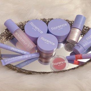 薰衣草紫色的护肤美妆品牌Florence众测