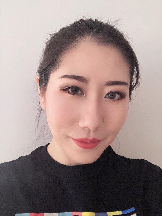 """眼妆当然不可以""""睁眼没""""🤣 - 秋日妆"""