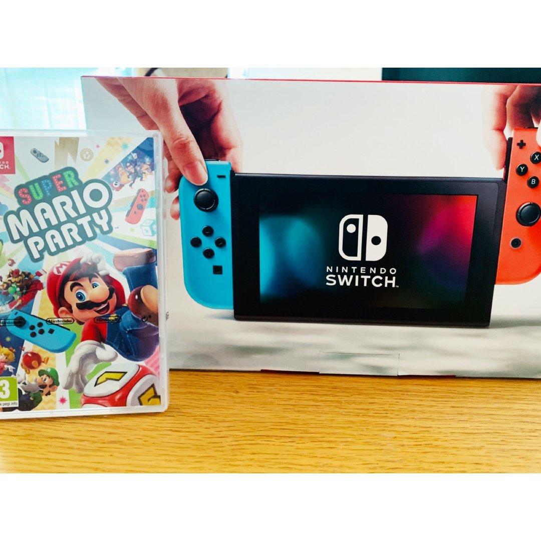 £299.99,Nintendo Switch+Mario Party Bundle