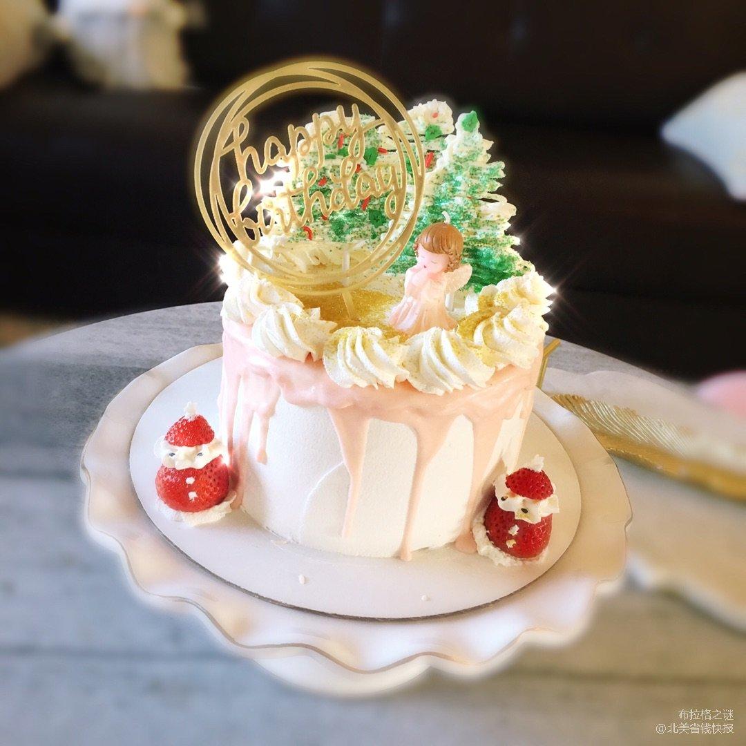 圣诞来了,圣诞蛋糕到了~