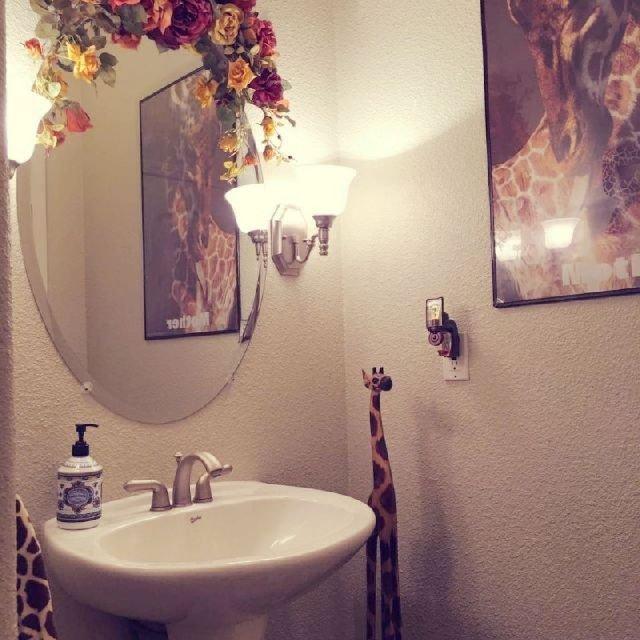 我的长颈鹿主题洗手间