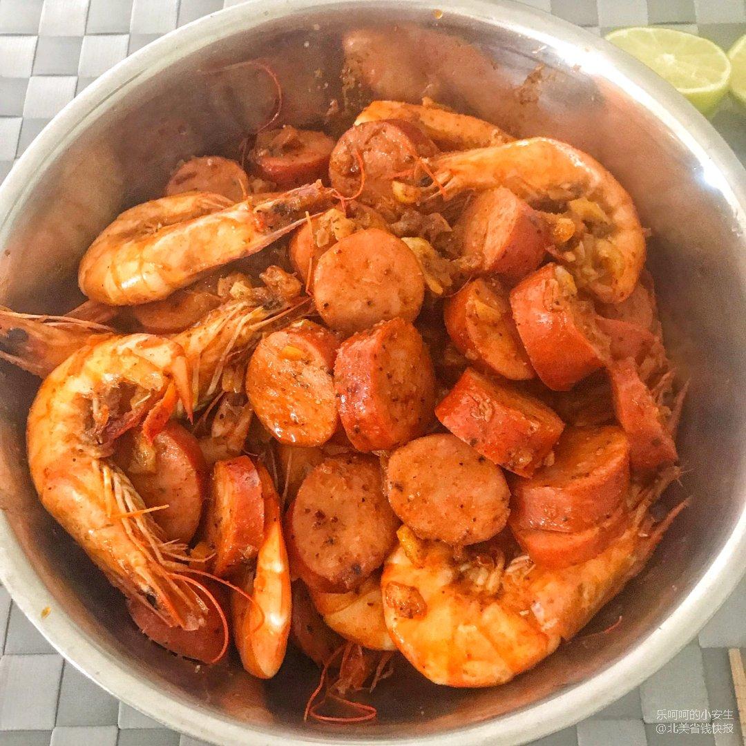 【午餐】boiling crab ...