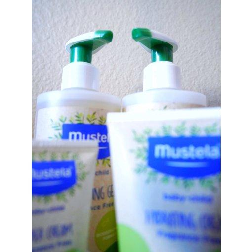 宝妈必备‼️Mustela有机系列橄榄油➕芦荟洗护套装