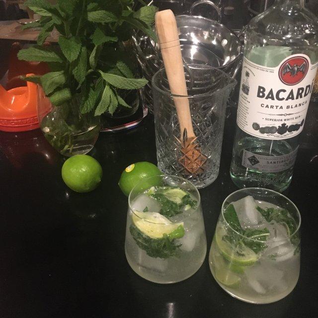 自製雞尾酒Mojito