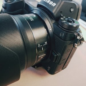 Z6 全画幅微单 + 50mm f/1.8镜头