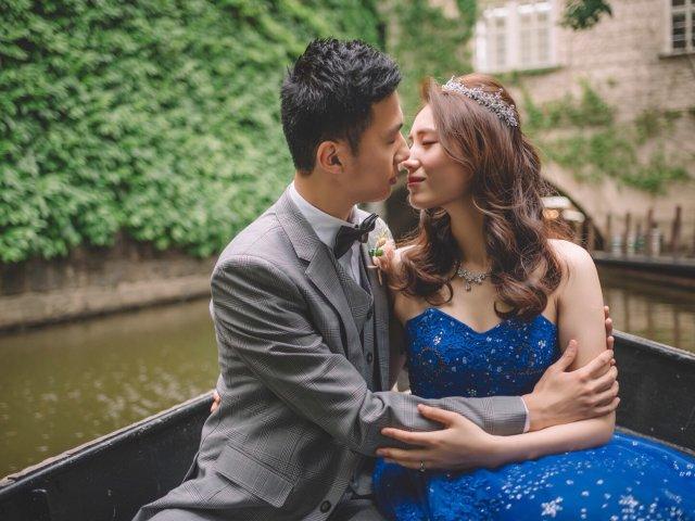 终于等到布拉格旅拍婚纱照-蓝色系列