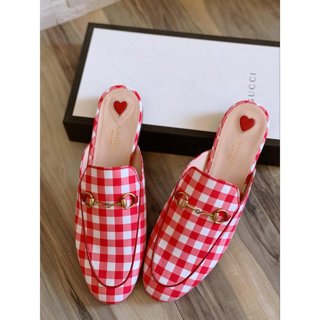 Gucci乐福拖鞋❤️求搭配建议❤️...