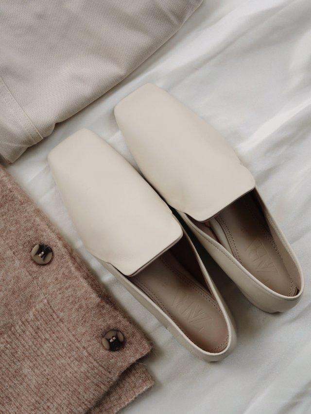 Zara新款软皮乐福鞋绝了|Th...
