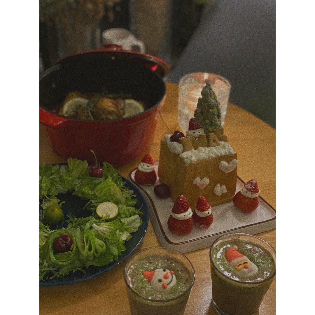 圣诞快乐🎄超级温暖的晚餐