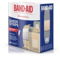Band-Aid Bandages 邦迪透气创可贴 80片 不同尺寸