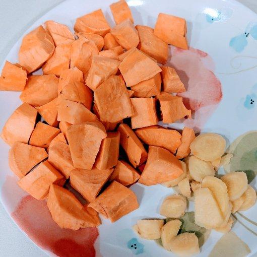 #Instant Pot食谱| 暖心暖胃的姜汁蕃薯黑糖水