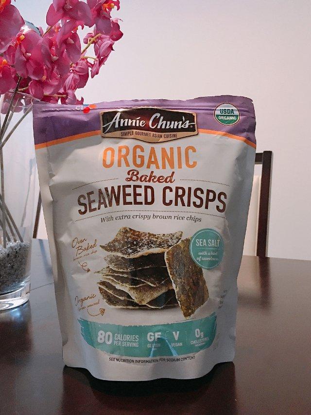 ❤️好吃的organic海苔脆片❤️