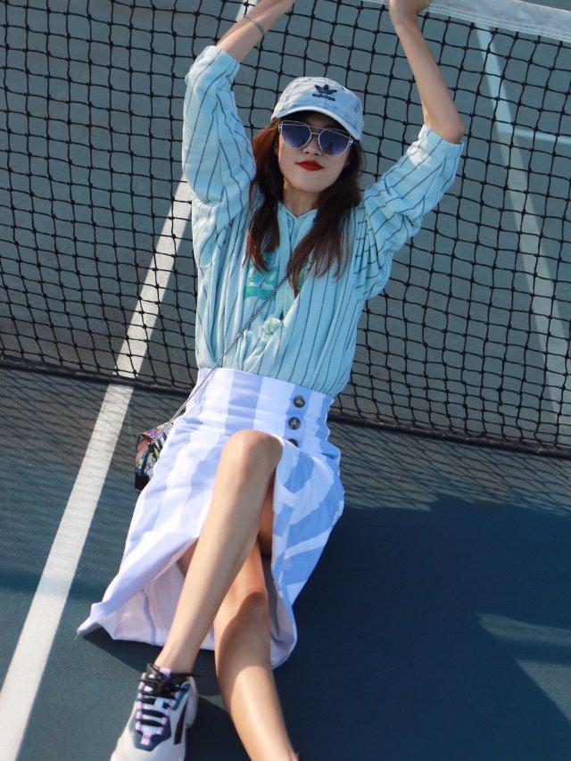 网球场🎾Lookbook——阿迪达...