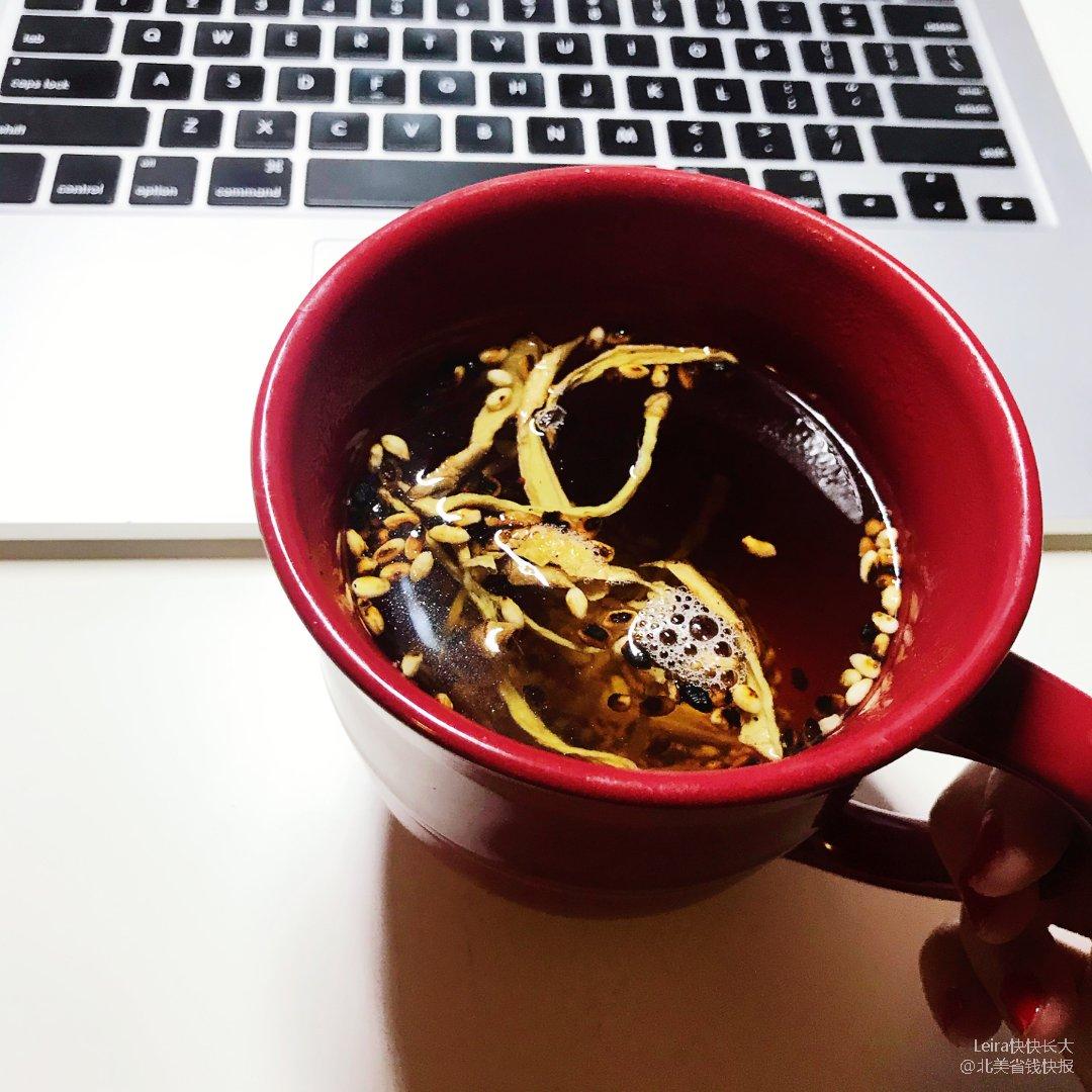 冬日热饮 |姜米茶