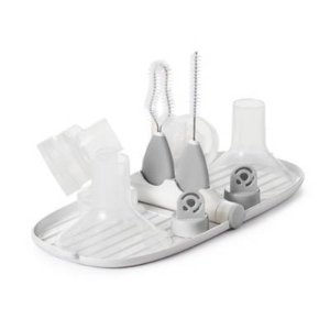 OXO Tot® Breast Pump Parts Drying Rack with Brushes in Grey - BuyBuyBaby