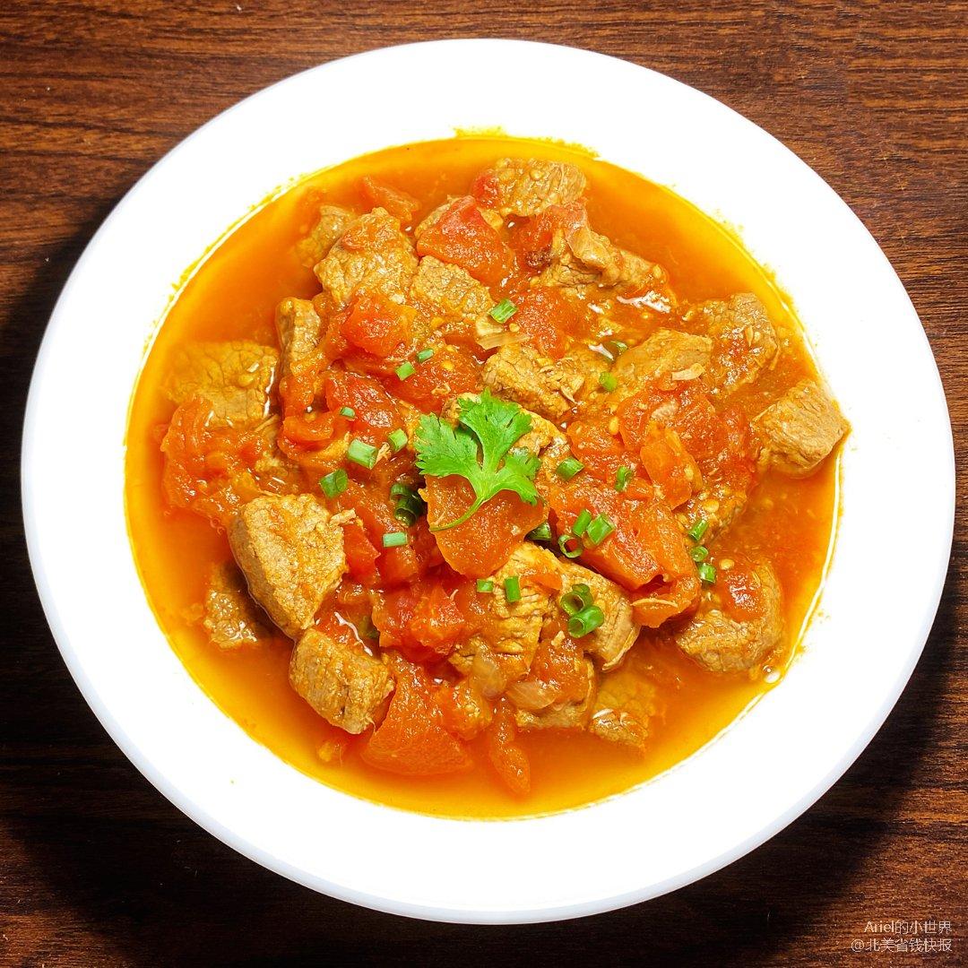 Ariel减肥餐87:番茄牛肉煲,...