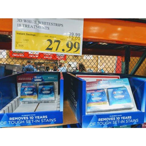 #Costco扫货| 特价的牙齿美白贴片买起来备用