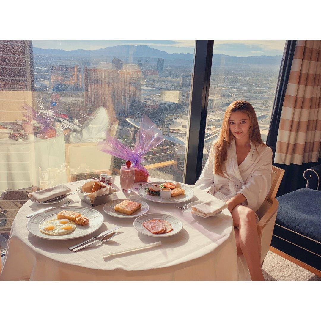 吃喝玩|拉斯维加斯酒店早午餐及滤镜分享