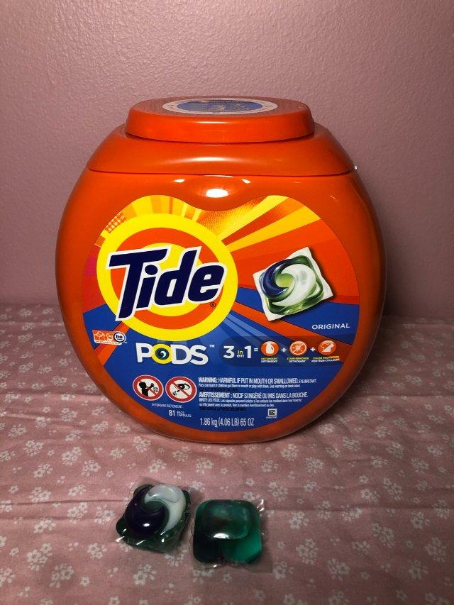 汰渍洗衣球
