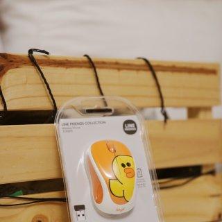 小黄鸭Line Friends无线鼠标,走可爱路线的实力派