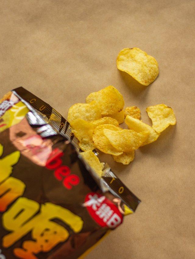 卡乐比咖喱薯片