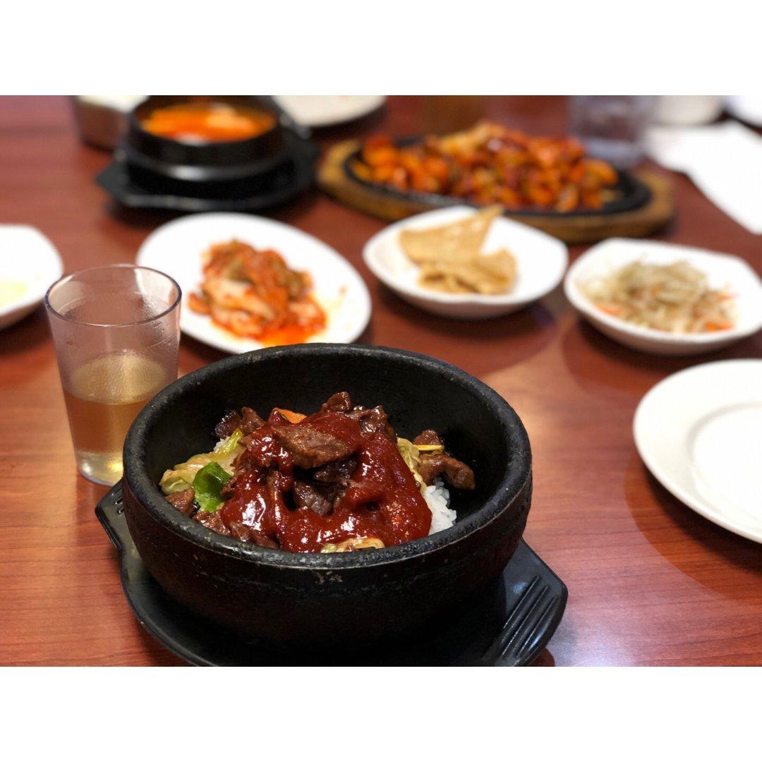 韩国料理走起来