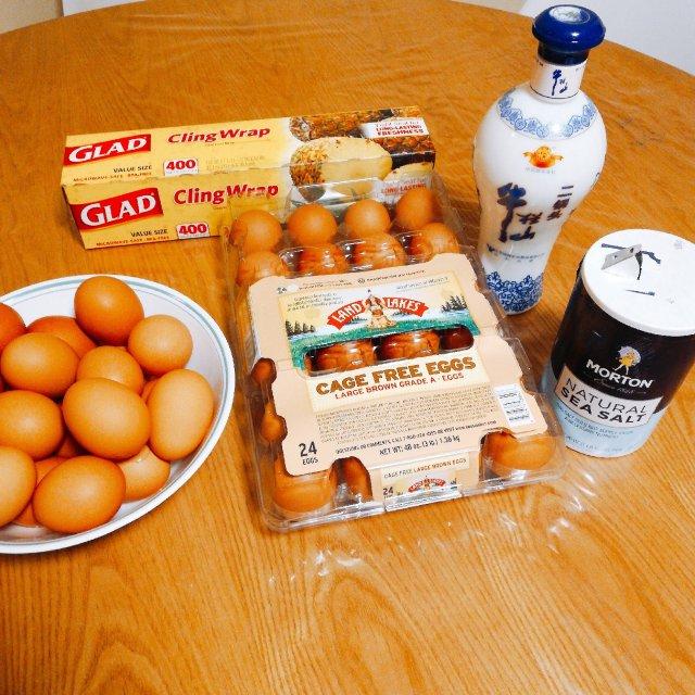 腌鸡蛋出油的最好方法👉白酒腌蛋🥚