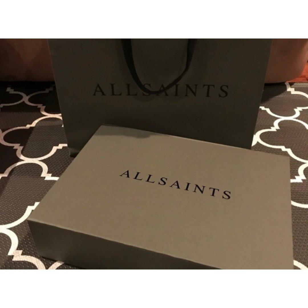 #3.6折allsaints皮衣#...
