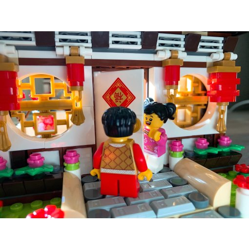 最值得收藏的乐高,80101中国年夜饭!
