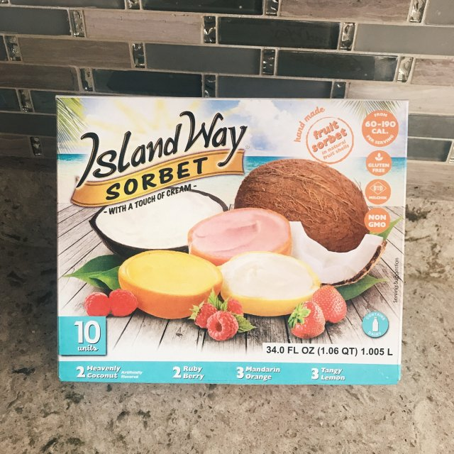 开箱 Island Way Sorbet