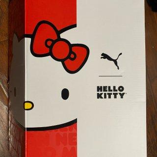 Puma限量Hello Kitty鞋到手...