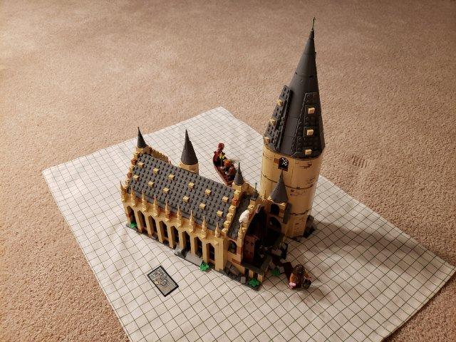 Lego75954 霍格沃茨礼堂