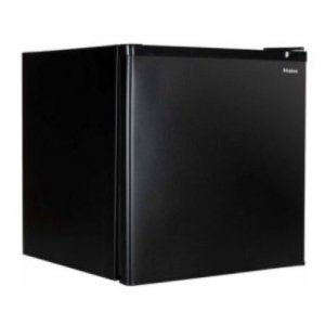 $69Haier 1.7 cu ft single door compact refrigerator, Black