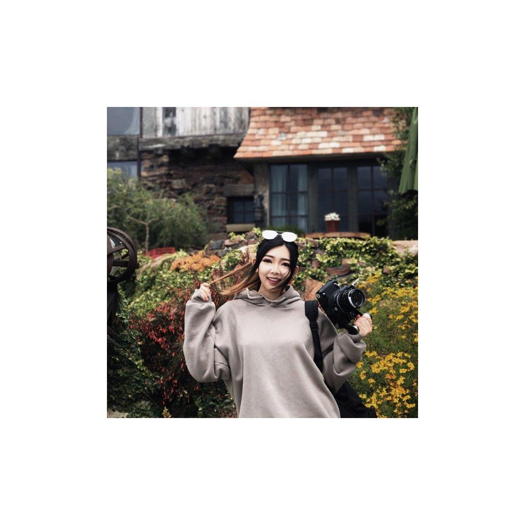 【爱上舒服保暖的韩风hoodie~...