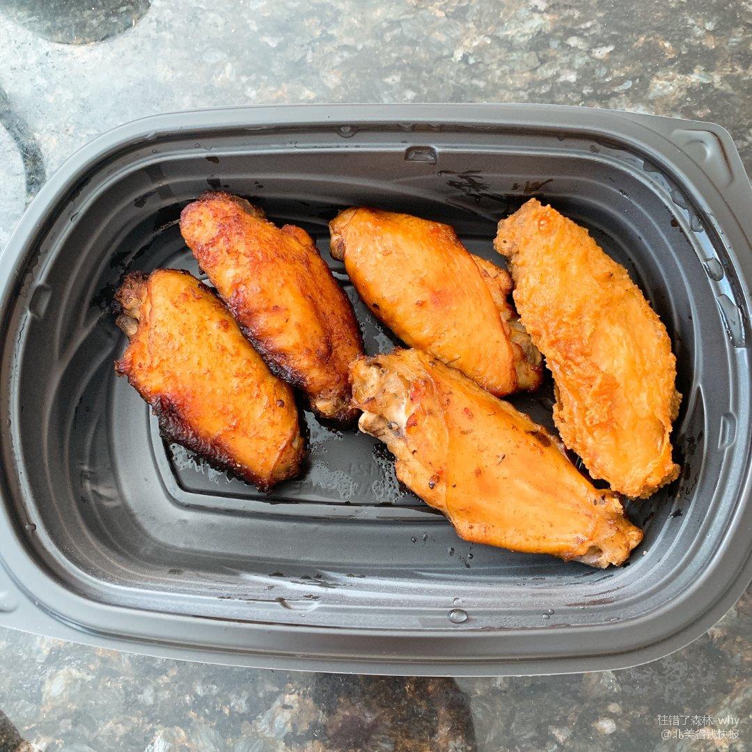 Safeway的汤和鸡翅也是很好恰的🍧