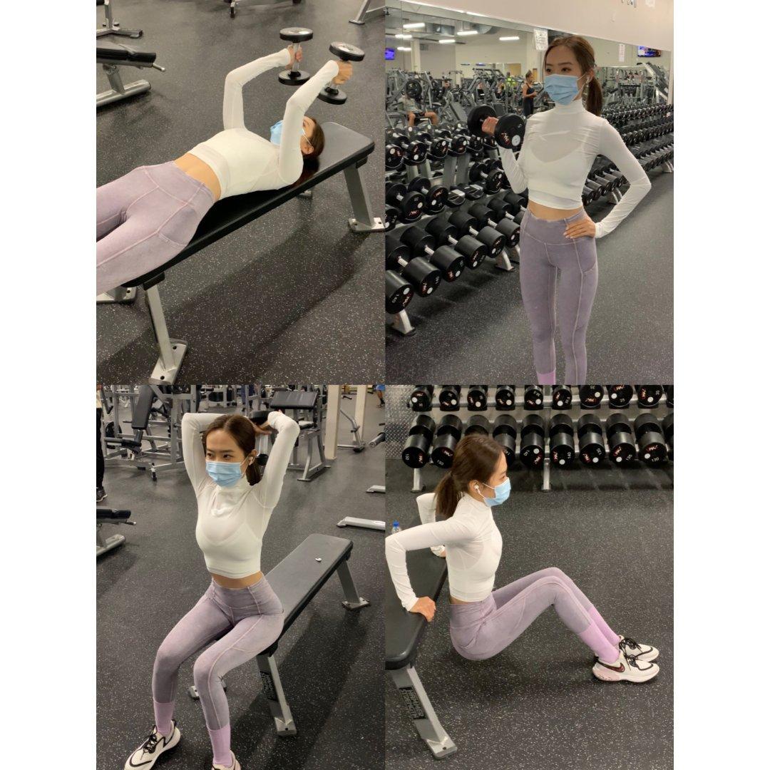 练手臂日常 lululemon超美运动裤