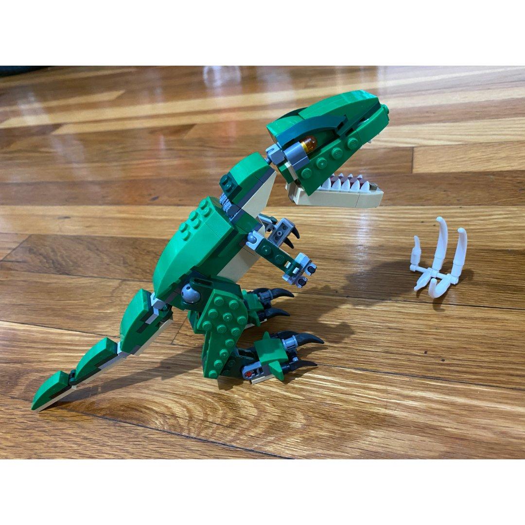 【宅家陪娃玩儿什么】Lego恐龙🦖...