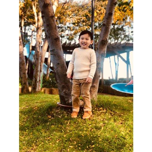 Pastel儿童服饰测评 英伦复古~秋季小暖男的穿搭