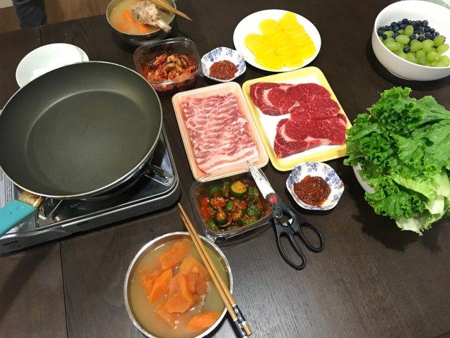 換季的家庭版韓式BBQ