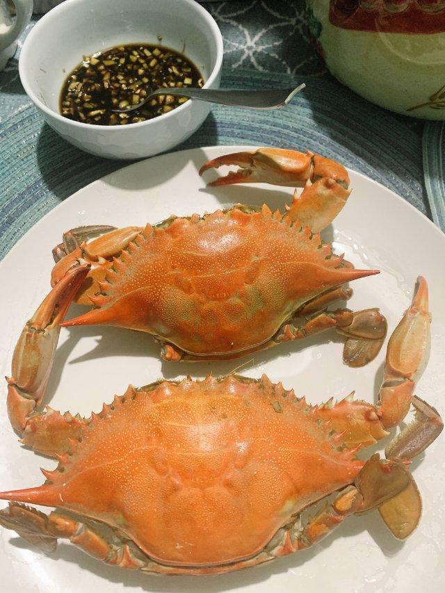 秋风起,蟹脚痒。爽爽的天,爽爽的吃。