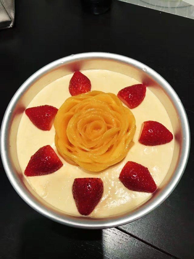 Homemade----芒果流心慕斯蛋糕