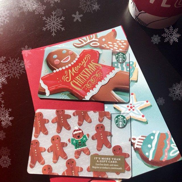 ❄️Starbucks 圣诞礼卡 ...