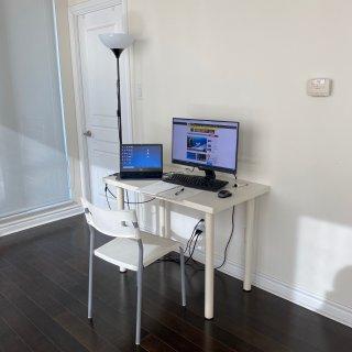我的宅家万能办公桌💻...
